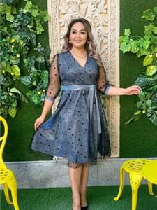 Платье короткое нарядное А19646