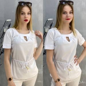 Блузка с коротким рукавом А37540