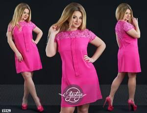 Платье короткое нарядное Ч4244