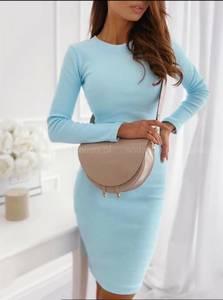 Платье короткое с длинным рукавом А10514