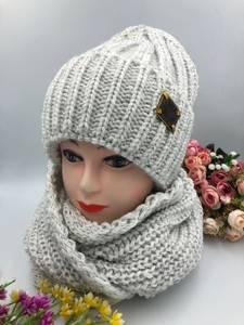 Шапка и шарф Хомут А15787