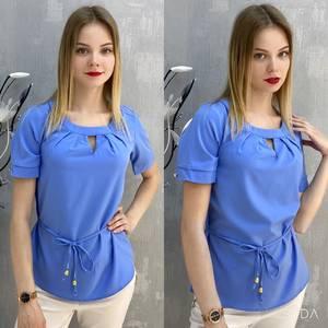 Блузка с коротким рукавом А37541