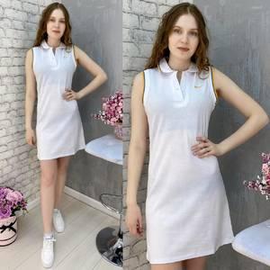 Платье короткое без рукавов А37585