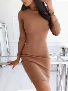 Платье короткое с длинным рукавом А10516