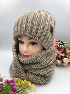 Шапка и шарф Хомут А15788