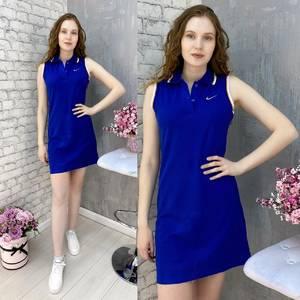 Платье короткое без рукавов А37586