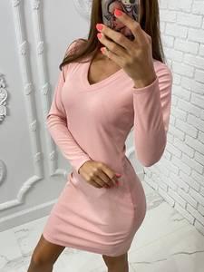 Платье короткое с длинным рукавом А10531