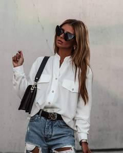 Рубашка с длинным рукавом А10718