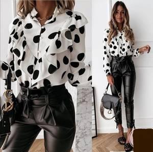 Блуза с длинным рукавом А13130