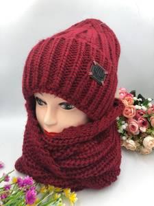 Шапка и шарф Хомут А15789
