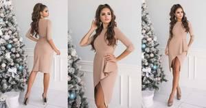 Платье короткое нарядное А20251