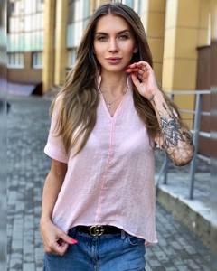 Блуза розовая Ч8647