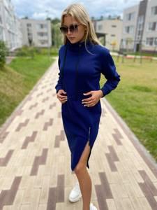 Платье короткое с длинным рукавом А10378