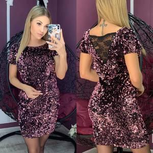 Платье короткое нарядное А10464