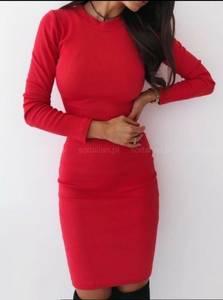 Платье короткое с длинным рукавом А10519