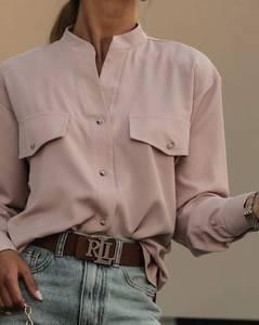 Рубашка с длинным рукавом А10720
