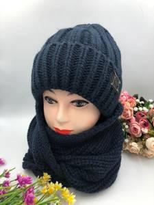 Шапка и шарф Хомут А15790