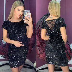 Платье короткое нарядное А10465