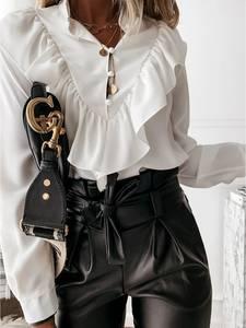 Блуза с длинным рукавом А14706