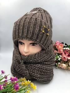 Шапка и шарф Хомут А15791