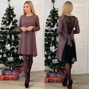 Платье короткое нарядное А10466