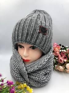 Шапка и шарф Хомут А15793