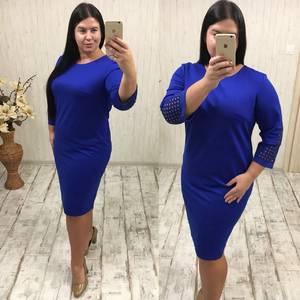 Платье короткое нарядное У1191