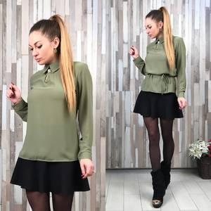 Блуза с длинным рукавом Т2158