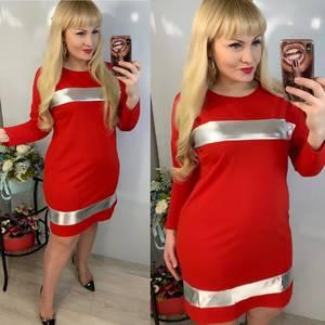 Платье короткое нарядное Ю2822