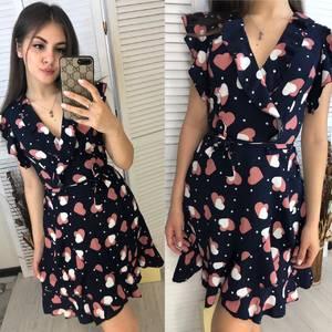 Платье короткое летнее Я9148