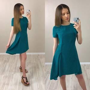 Платье короткое с принтом вечернее Т4040