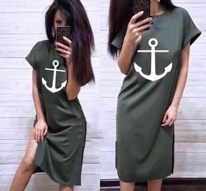Платье длинное летнее А04740