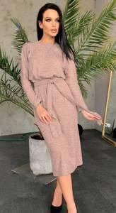 Платье короткое с длинным рукавом А10547