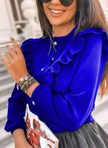Блуза с длинным рукавом А10661