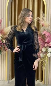 Платье длинное нарядное А18322