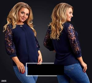 Блуза нарядная А22735