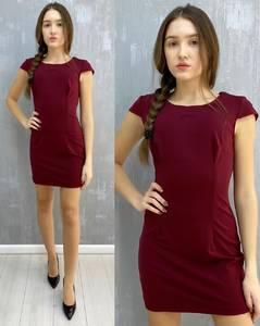 Платье короткое без рукавов А30099