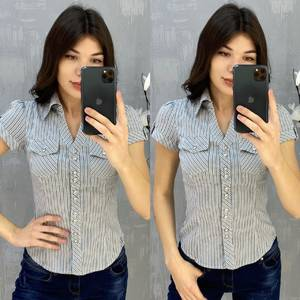 Рубашка с коротким рукавом А30760