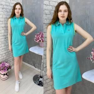 Платье короткое без рукавов А37574