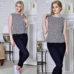 Блуза летняя без рукавов Т4932