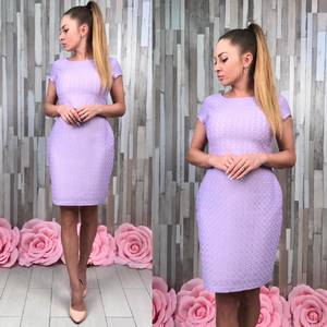 Платье короткое элегантное облегающее Т4936