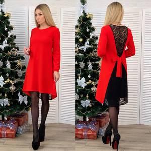 Платье короткое нарядное А10468