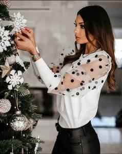 Блуза с длинным рукавом А14578