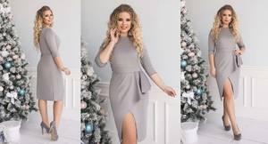 Платье короткое нарядное А20255