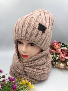 Шапка и шарф Хомут А15795