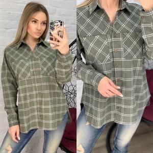 Рубашка в клетку А17222