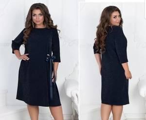 Платье короткое нарядное А19655