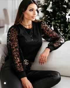 Блуза с длинным рукавом А14580