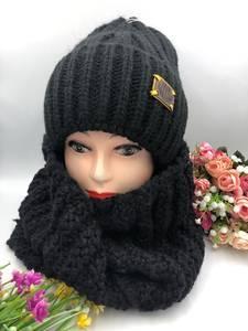 Шапка и шарф Хомут А15796