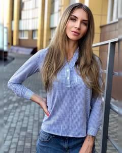Блуза для офиса Ч8655